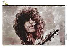 Jimmy Page By Mary Bassett Carry-all Pouch