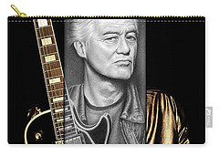 Jimmy Page Drawing Carry-all Pouch