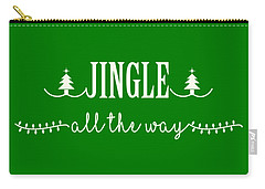 Jingle All The Way Carry-all Pouch