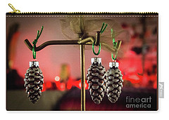 Jingle Pinecones Carry-all Pouch
