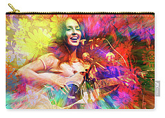 Joan Baez Carry-all Pouch