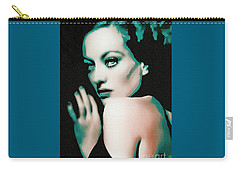 Joan Crawford - Pop Art Carry-all Pouch