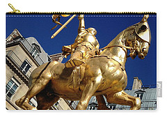 Carry-all Pouch featuring the photograph Joan Of Arc - Paris by Therese Alcorn