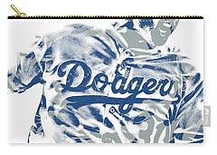 Joc Pederson Los Angeles Dodgers Pixel Art 10 Carry-all Pouch