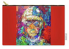 Jockey Portrait Carry-all Pouch