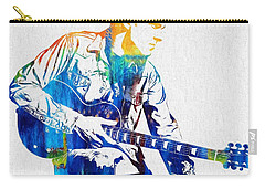 Joe Bonamassa Carry-all Pouch by Dan Sproul