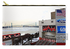 Joe Louis Arena Carry-all Pouch by Michael Rucker