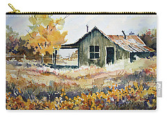 Carry-all Pouch featuring the painting Joe's Place II by Sam Sidders