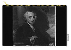 Carry-all Pouch featuring the photograph John Adams Second Potus by Richard W Linford