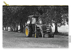 Carry-all Pouch featuring the photograph John Deere 620 In Selective Color by Doug Camara