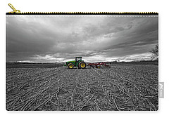John Deere Tractor On The Farm Carry-all Pouch