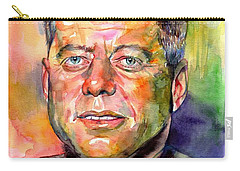 John F. Kennedy Watercolor Carry-all Pouch