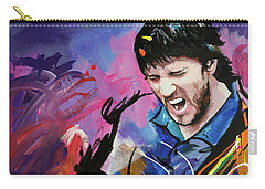 John Frusciante Carry-all Pouch by Richard Day