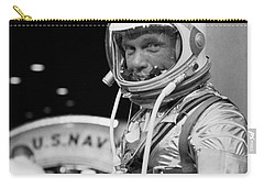 John Glenn Wearing A Space Suit Carry-all Pouch