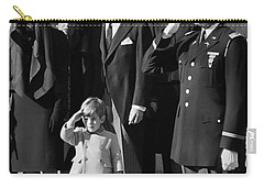 John Kennedy Jr Salute To Father Carry-all Pouch