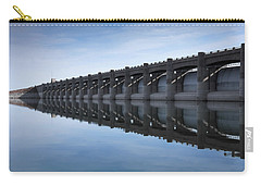 John Martin Dam And Reservoir Carry-all Pouch by Ernie Echols