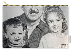 John Megan And Joey Carry-all Pouch