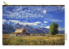 John Moulton Barn In The Tetons Carry-all Pouch
