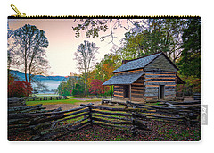 John Oliver Place In Cades Cove Carry-all Pouch by Rick Berk