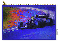 Carry-all Pouch featuring the mixed media John Player Special by Marvin Spates