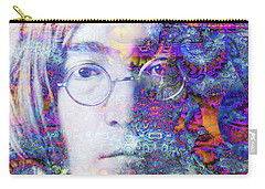 Carry-all Pouch featuring the digital art John by Robert Orinski