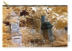 Autumnal Walk At Abney Park Cemetery Carry-all Pouch