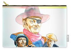 John Wayne Carry-all Pouch by Bryan Bustard