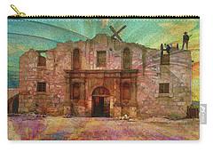 John Wayne's Alamo Carry-all Pouch by John Robert Beck