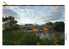 John Weeks Bridge In Harvard Square Cambridge Carry-all Pouch