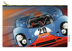 John Wyer's Gulf Porsche 917 Carry-all Pouch