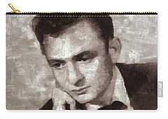 Johnny Cash By Mary Bassett Carry-all Pouch