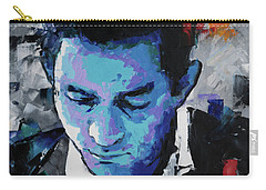 Johnny Cash Carry-all Pouch by Richard Day