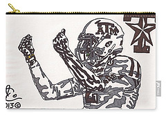 Johnny Manziel 10 Change The Play Carry-all Pouch