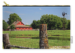 Johnson County Farm Carry-all Pouch by Christopher McKenzie