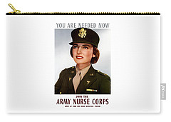 Join The Army Nurse Corps Carry-all Pouch