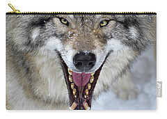 Carry-all Pouch featuring the photograph Joker by Tony Beck