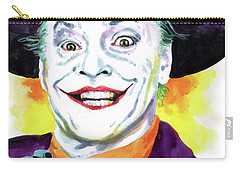 Jokernicholson Carry-all Pouch by Ken Meyer jr