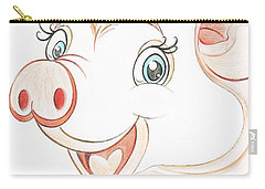 Jolly Miss Piggy Carry-all Pouch by Teresa White