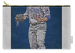 Jon Lester Chicago Cubs Art Carry-all Pouch
