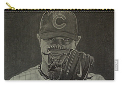 Jon Lester Portrait Carry-all Pouch