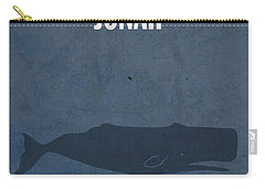 Jonah Books Of The Bible Series Old Testament Minimal Poster Art Number 32 Carry-all Pouch by Design Turnpike