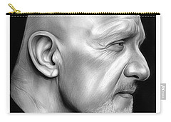 Jonathan Banks Carry-all Pouch by Greg Joens