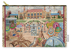 Jones Beach Love Story Towel Version Carry-all Pouch