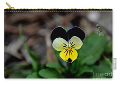 Jonny Jump Up - Relative To A Pansy Carry-all Pouch
