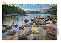 Jordan Pond And The Bubbles Carry-all Pouch by Rick Berk