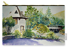 Jose Moya Del Pino Library At Marin Arts And Garden Center Carry-all Pouch