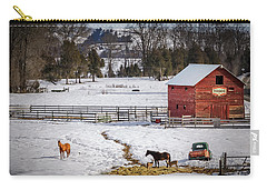 Carry-all Pouch featuring the photograph Joseph Oregon by Cat Connor