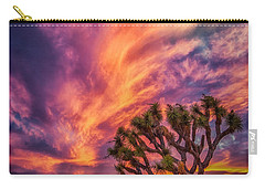 Joshua Tree In The Glowing Swirls Carry-all Pouch