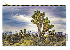 Joshua Tree On The Extraterrestrial Highway Carry-all Pouch by Janis Knight