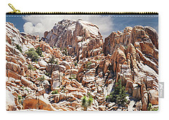 Joshua Tree National Park - Natural Monument Carry-all Pouch by Glenn McCarthy Art and Photography